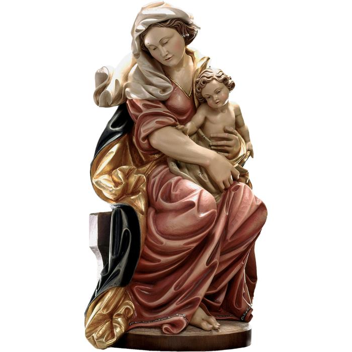 Sitting Madonna baroque