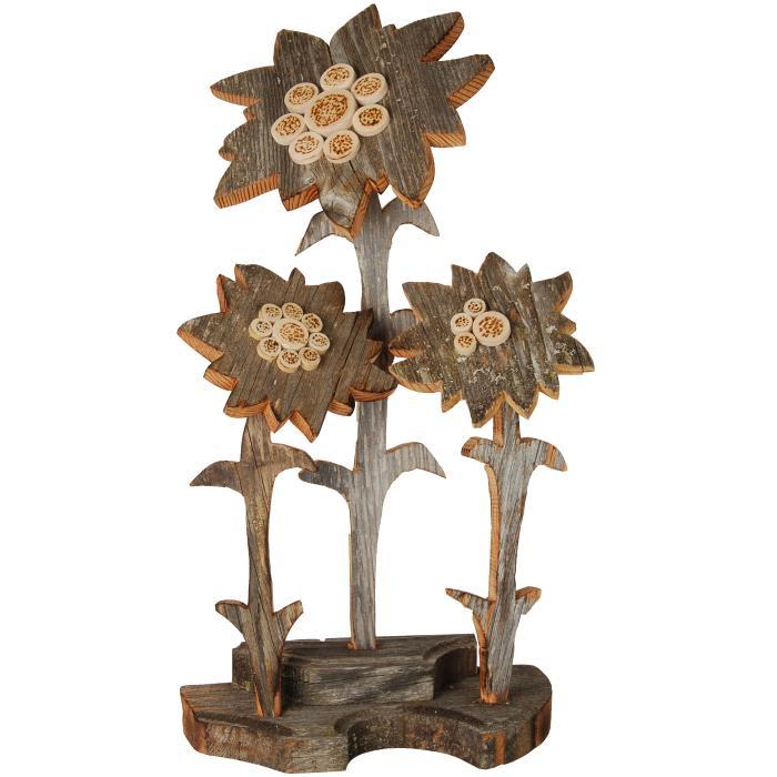 Fiori vendita scultura in legno for Mazzo per esterni in legno