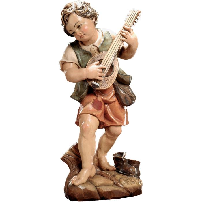 Boy with mandolin