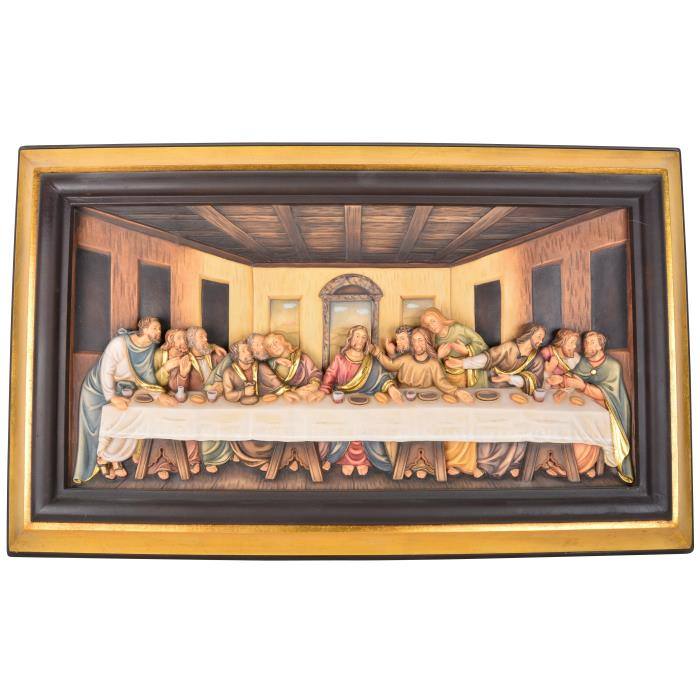 Last supper with frame