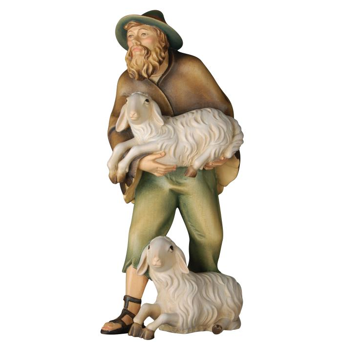 Herdsman with sheep