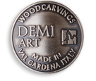 Demi Art original woodcarvings – made in Val Gardena, Italy