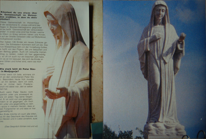 Madonna of Međugorje pictures by customer