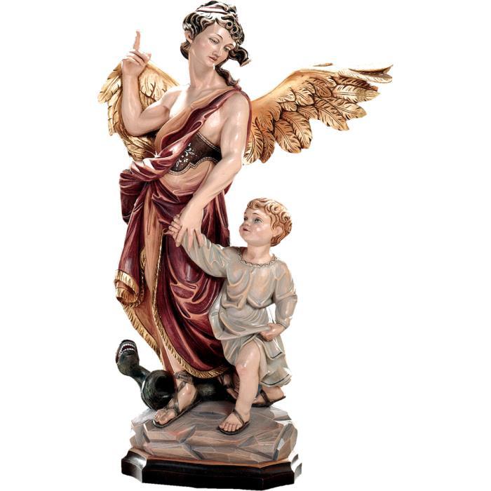 St Raphael Archangel Male Saints Wood Carving 20 Cm Colored Acquisto Sculture In Legno