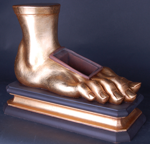 Reliquary Reliquary golden foot