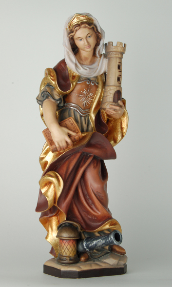 Heilige Barbara Kindern Erklärt