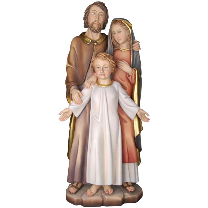 Holy Family with Jesus oldster simple