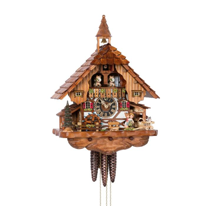 Cuckoo Clock with kissing lovers