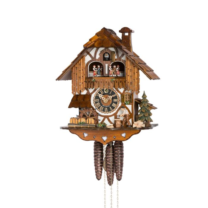 Cuckoo Clock with wood-cutter