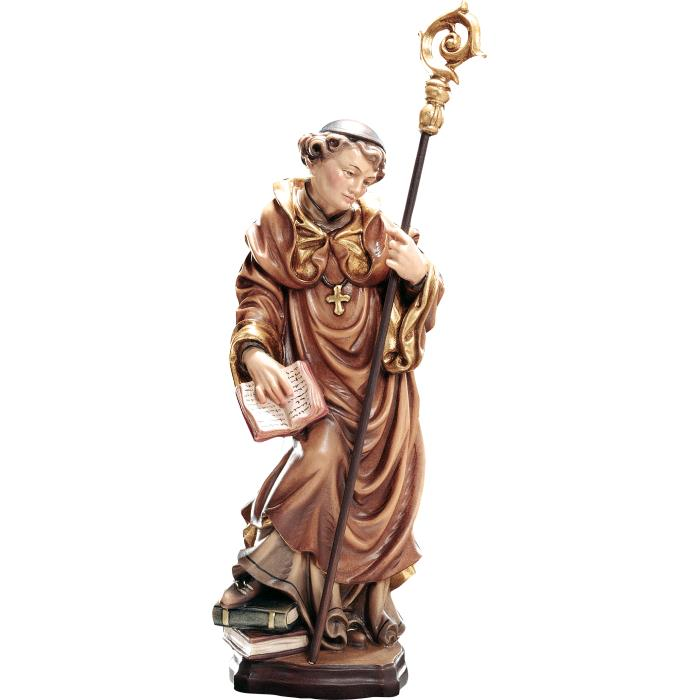 Wooden sculpture representing St. Adrian