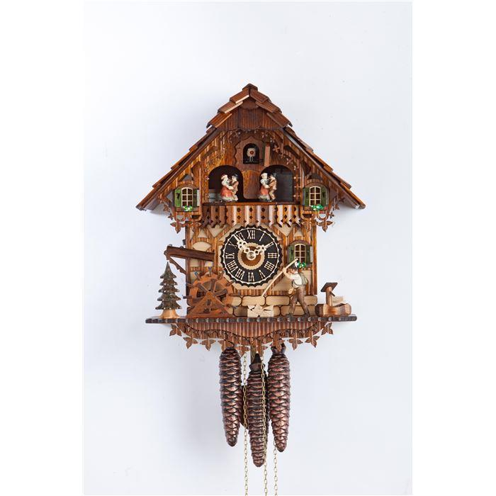 Cuckoo clock chalet painted