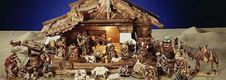 Discounts on wooden nativity scenes