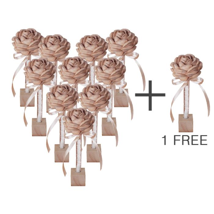 FAVOR BOX - Roses for love - 10+1 FREE