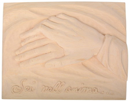 Relief with hands