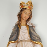 Immaculate Virgin with crown made on request by Demi Art